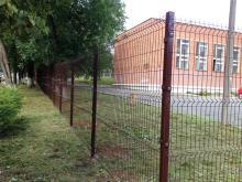 Ограждение 3D забором, Лицей №25